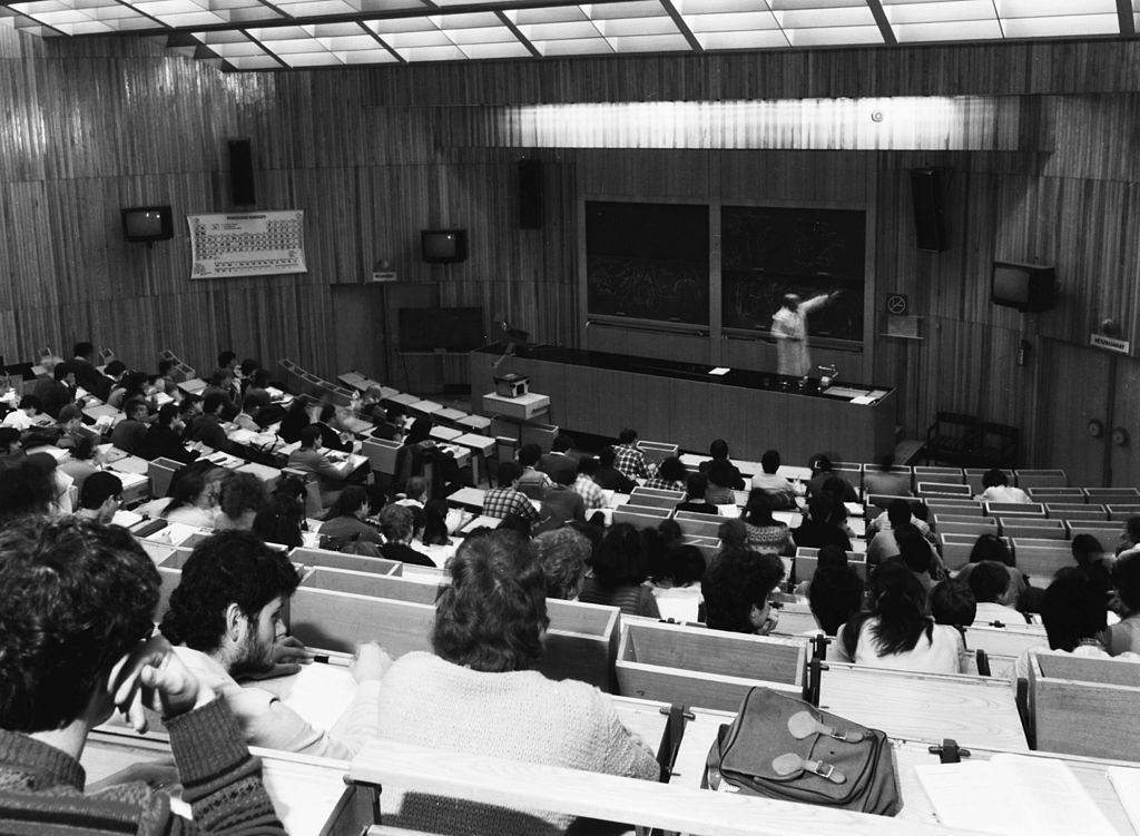 A Love Letter To People Who Ask Specific Questions In Large Lectures
