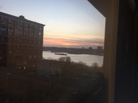 The View of The Hudson River